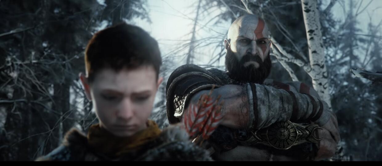 Kratos i Atreus w God of War 2018