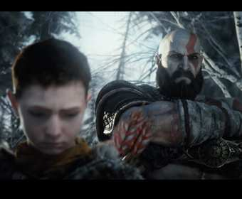 Kratos i Atreus w God of War 2018