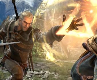 Geralt z Rivii w Soul Calibour VI