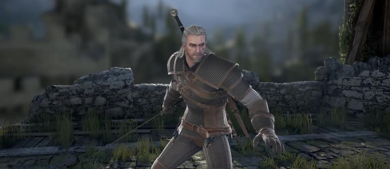 Geralt w Soul Calibur VI