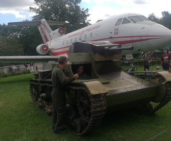 World of Tanks wjechało polskimi czołgami do Muzeum Wojska Polskiego