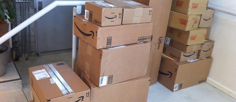 paczki z Amazon