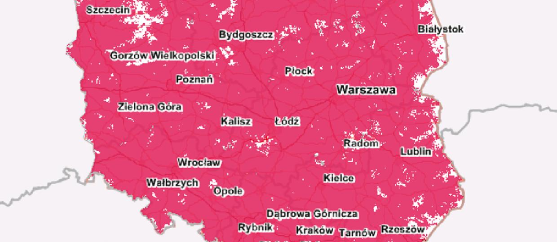 8% miejscowości w Polsce nie ma dostępu do internetu