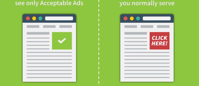 Adblock Plus będzie pokazywał własne reklamy