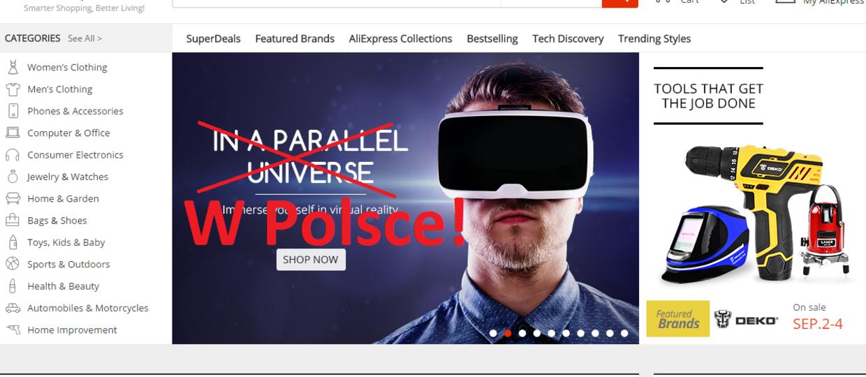AliExpress wejdzie do Polski