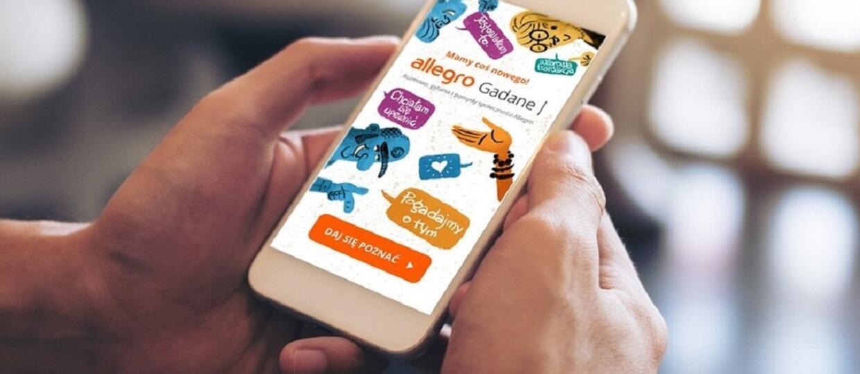 smartfon z Allegro gadane