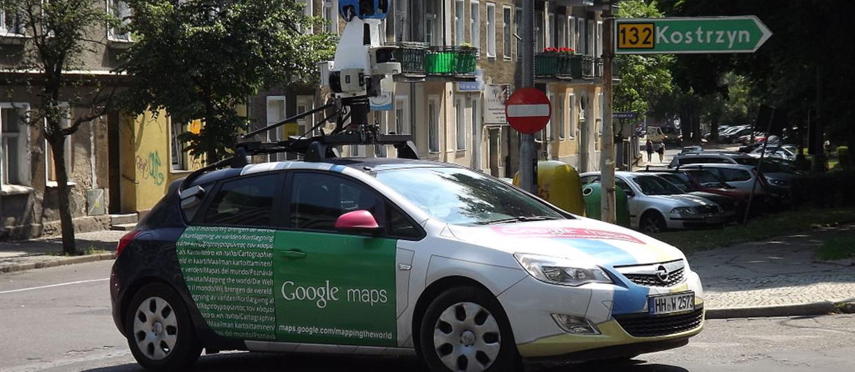 Auta Google Street View wjeżdżają do Polski