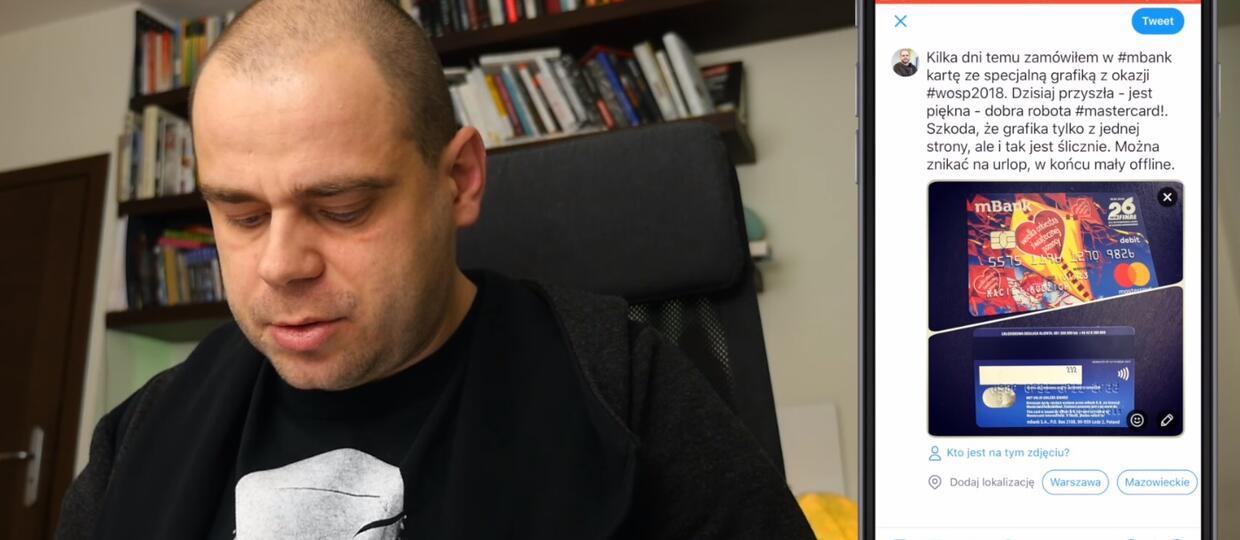 Bloger pokazał kartę w internecie, błyskawicznie wyczyszczono mu konto