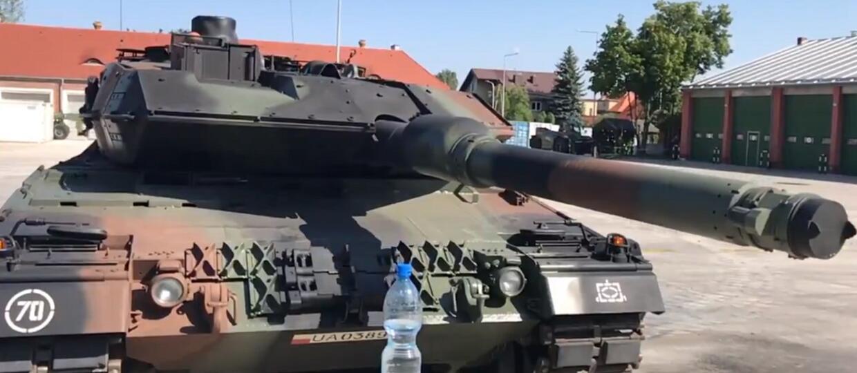 Leopard 2A5 z 1. WBP w #bottlecapchallenge