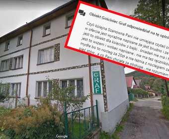 """""""Był pan jedynym grzybem, jaki u nas przebywał"""". Kolejny polski hotel mści się za negatywną opinię w internecie"""