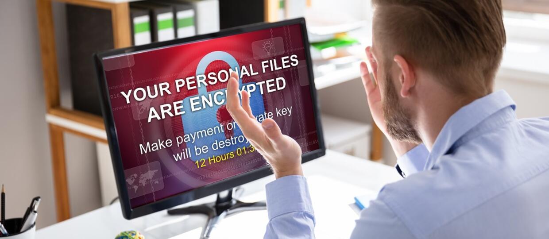 ransoware na komputerze