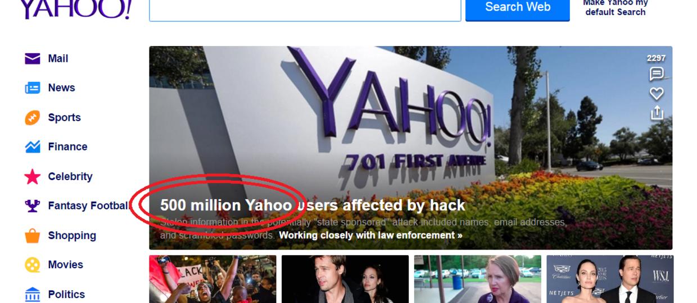 Dane pół miliarda osób wykradzione z Yahoo