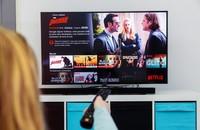 oglądanie Netflix na telewizorze