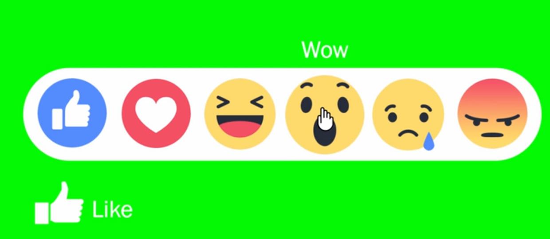 Facebook nie odróżnia w reakcjach miłości od nienawiści