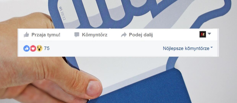 Facebook oficjalnie w śląskiej wersji językowej
