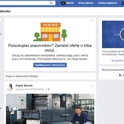 Facebook Oferty pracy