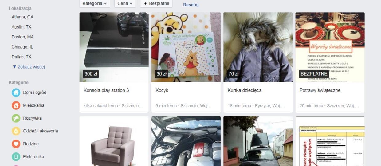 Facebook stał się w Polsce konkurencją dla OLX