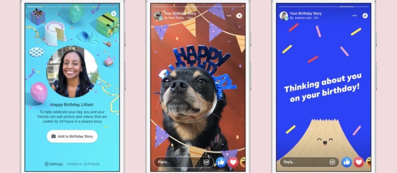 Relacje urodzinowe na Facebooku