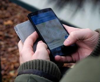 Google Maps na smartfonie