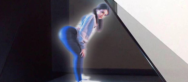 """Hologramy z """"Gwiezdnych wojen"""" w porno na żywo"""