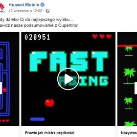 Filmy Huawei wyśmiewające Apple
