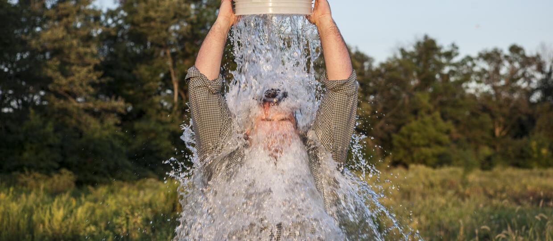 Ice Bucket Challenge pomógł w leczeniu choroby Lou Gehriga