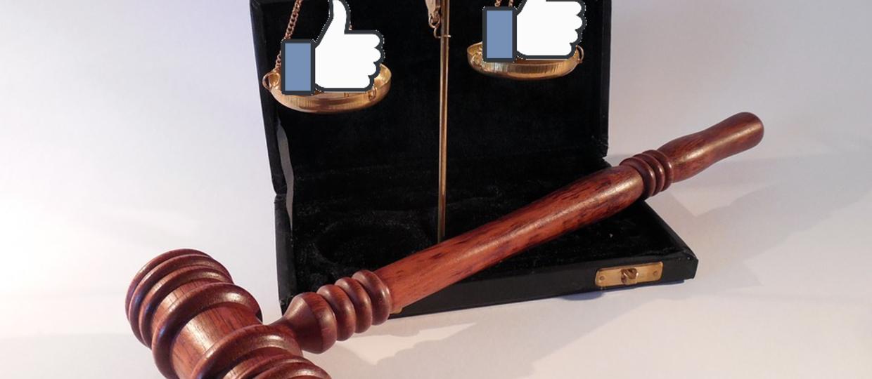 Internauta skazany za polubienie postów na Facebooku