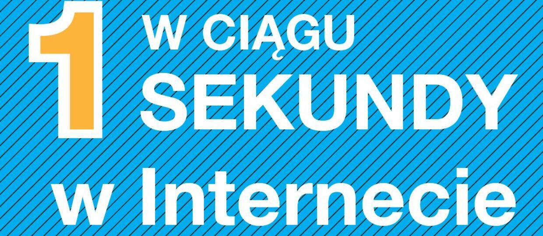 Jak wygląda sekunda w internecie?