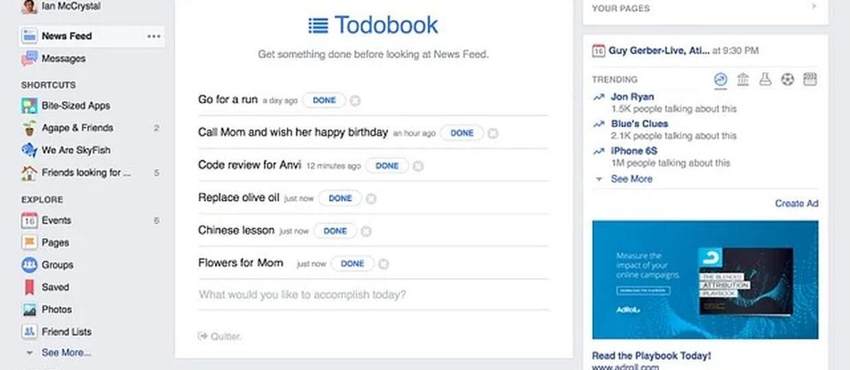 Jak zmienić Facebooka w motywacyjnego guru?