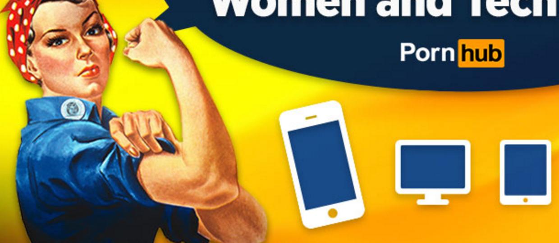 Kobiety wybierają mobilne porno