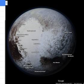 Mapy Google sięgają teraz do Plutona
