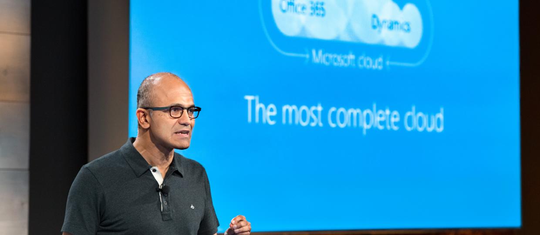Microsoft rozda miliard dolarów w chmurze
