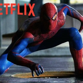 Spider-Man i logo Netflix