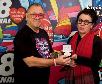 Olga Tokarczuk i Jurek Owsiak
