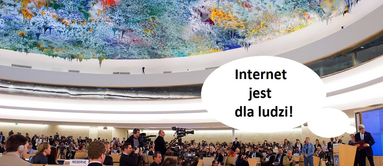 ONZ chce praw człowieka w internecie