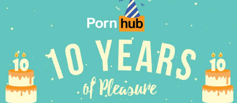 Pornhub pokazał aktorki porno 10-lecia