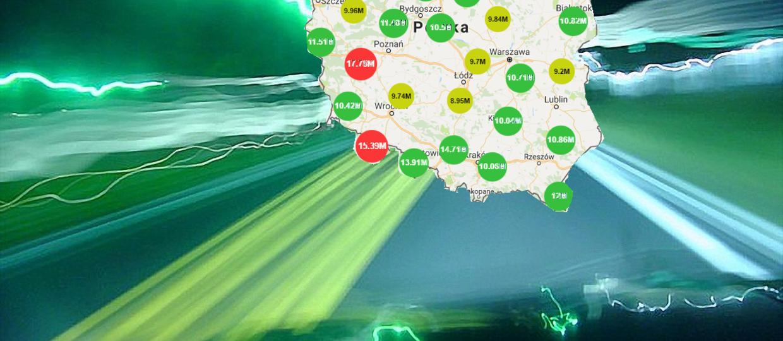 Polska rządzi w szybkości mobilnego internetu