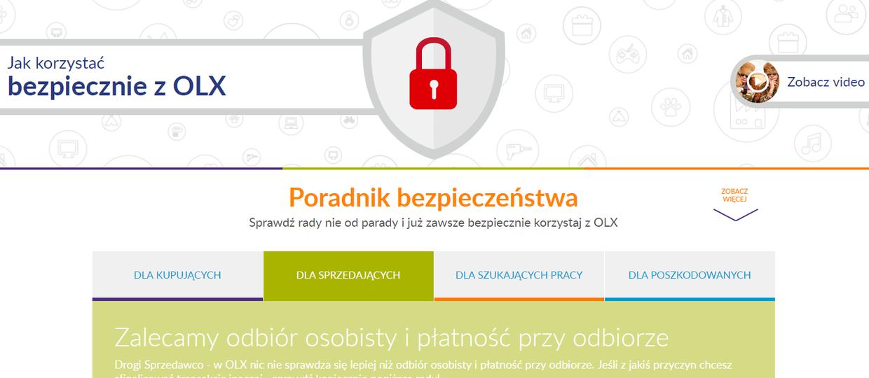 Przestępcy atakują użytkowników OLX-a