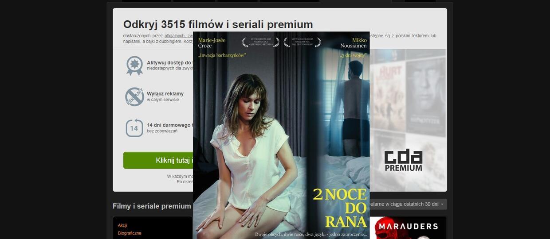 Równoczesna premiera filmu w kinach i na CDA Premium