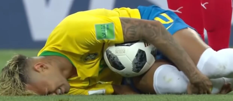 Neymar śmiertelnie faulowany