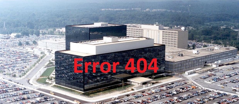 """Serwer NSA padł, winna """"zła pogoda"""""""