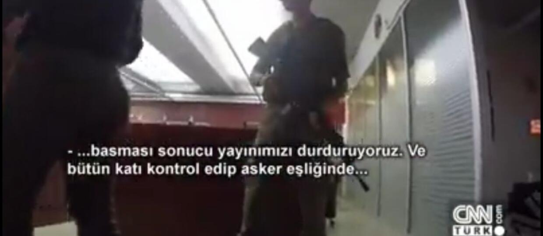 Turecki CNN nadawał z Facebooka