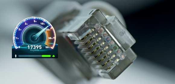 Urzędowy test prędkości łącza dowodem na zbyt wolny internet