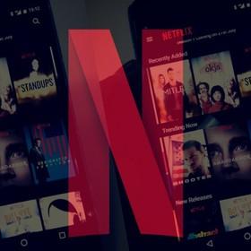 Netflix na smartfonie