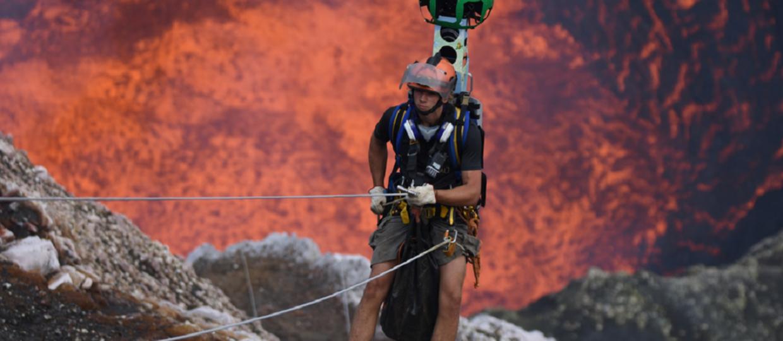 W Google Street View można zwiedzić czynny wulkan