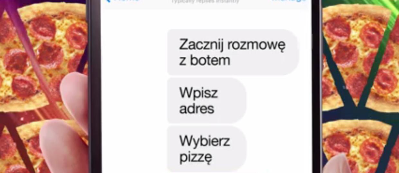 W Polsce można już zamawiać pizzę przez Facebooka