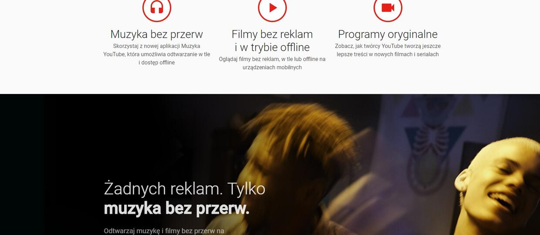 YouTube Red po polsku