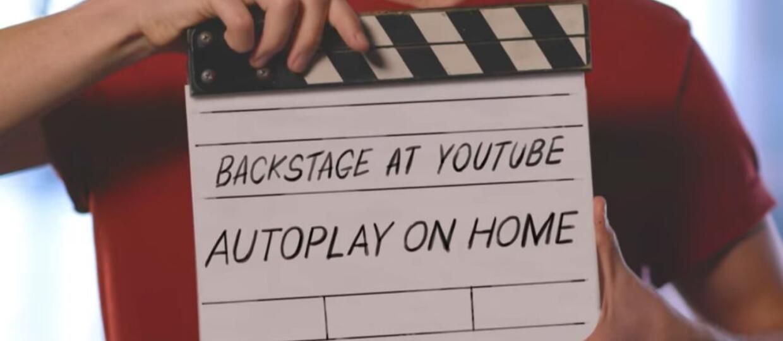 YouTube autplay on home