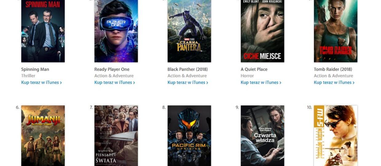 filmy w iTunes