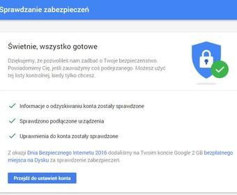 Zabezpiecz się i dodaj 2 GB do Google Drive